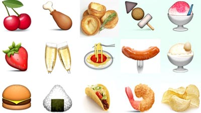 Food emojis