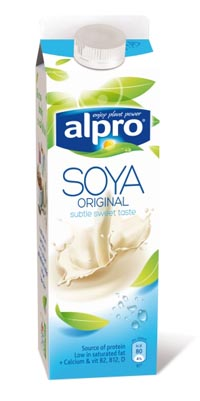 Bravo alpro nut and soya milks to be made on dedicated lines for Alpro soya cuisine