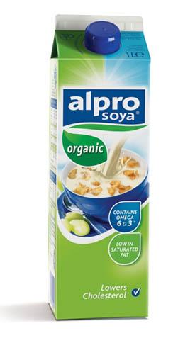 Alpro soya milk