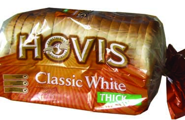 Bread Hovis sliced