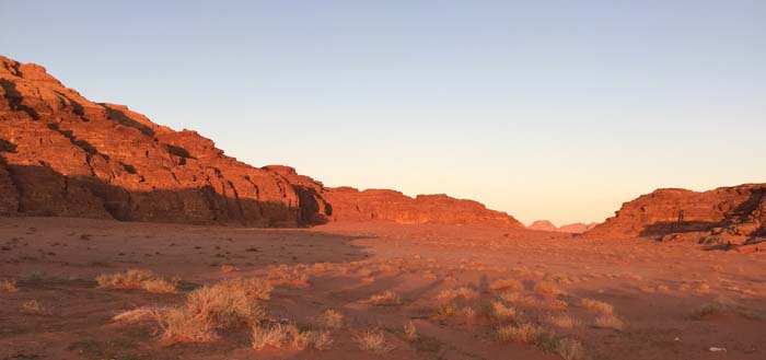 Evening Wadi Rum