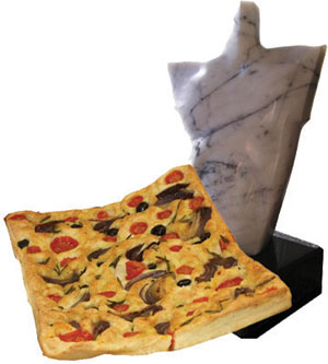 Focaccia Meditarranea - gluten, dairy, soya & egg free winner of FreeFrom food Awards 2014