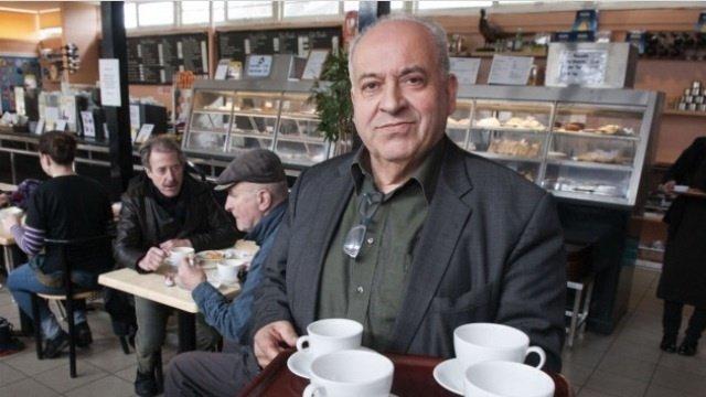Alberto d'Auria who has run the Parliament Hill café for 33 years.