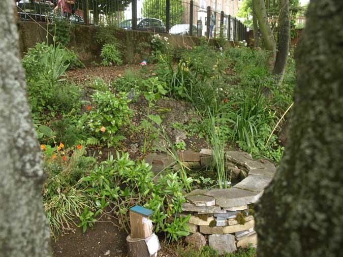 Wold peace garden