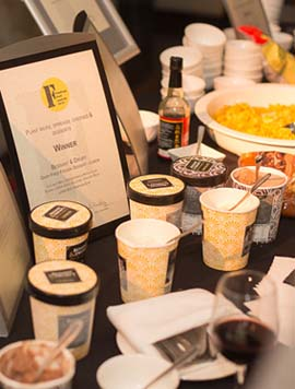 FreeFrom food Awards winners' buffet