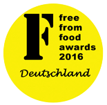 FreeFrom Food awards Deutschland