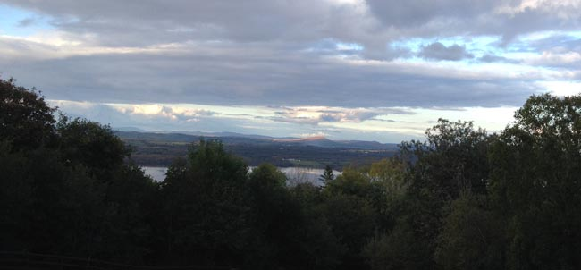 Sunset over Loch Melvin